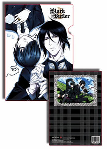 Black Butler 2 File Folder - Sebastian & Ciel