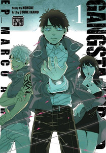 Gangsta.: Cursed - Episode: Marco Adriano Manga Vol. 01