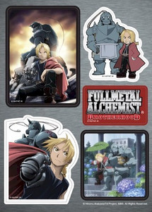 FMA Brotherhood Sticker Sheet - Brotherhood