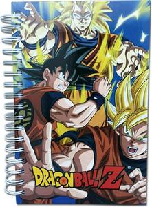 Dragon Ball Z HC Notebook - Goku 3 Forms