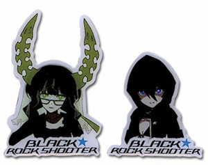 Black Rock Shooter Pin Set - BRS & Dead Master