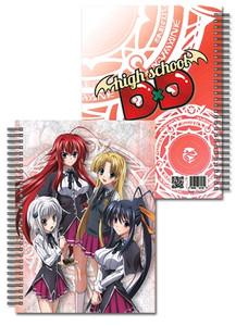 High School DxD Notebook - Girls Group