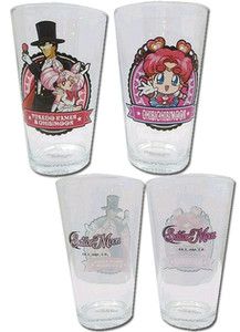 Sailor Moon Pint Glasses Set - Group #4 (2-Pack)