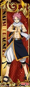 Fairy Tail Human Size Wallscroll - Natsu