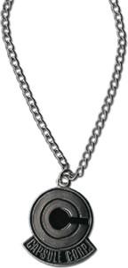 Dragon Ball Z Necklace - Capsule Corp Logo