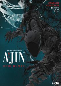 Ajin DVD
