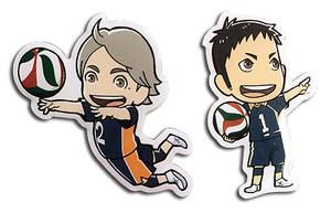 Haikyu!! Pin Set - Daichi & Koshi
