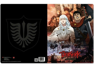 Berserk Pocket File Folder - Guts & Griffith Band of Hawks