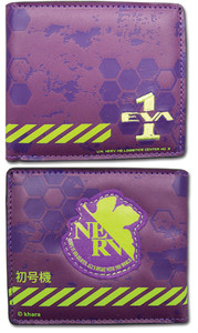 Evangelion Wallet - Eva Unit 01 Nerv