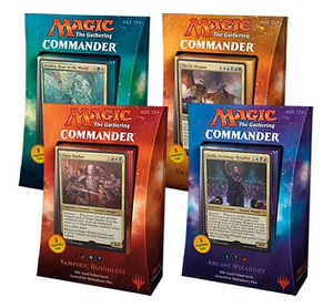 Magic the Gathering Commander Decks 2017