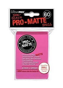 Ultra Pro Pro-Matte Sleeves Small (60) - Bright Pink