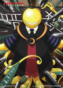 Assassination Classroom Wallscroll - Koro Sensei Targetted