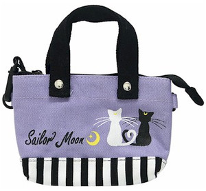 Sailor Moon Mini Hand Bag - Luna & Artemis Pattern