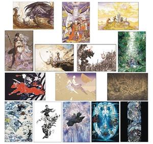 Final Fantasy 30th Anniversary Postcard Set