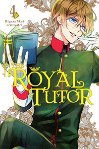 The Royal Tutor Graphic Novel 04