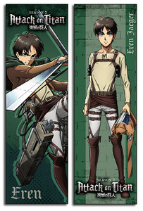 Attack on Titan Body Pillow - Eren