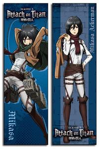 Attack on Titan Body Pillow - Mikasa