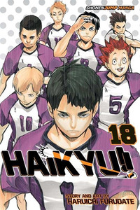 Haikyu!! Graphic Novel 18