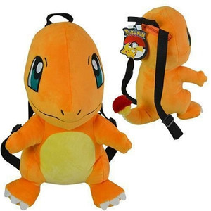 Pokemon Plush Backpack - Charmander