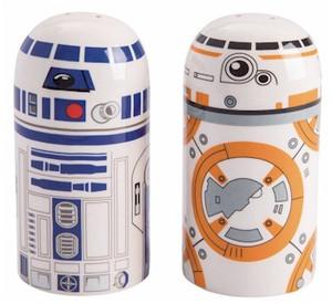 Star Wars Salt & Pepper Set: BB-8 & R2D2