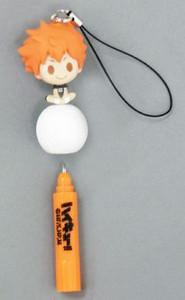 Haikyu!! Pen - Shoyo Hinata (with Phone Strap)