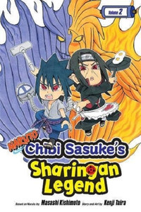 Naruto: Chibi Sasuke's Sharingan Legend Graphic Novel Vol. 2