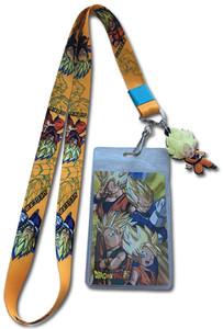 Dragon Ball Super Lanyard - Goten, Trunks, Goku & Vegeta