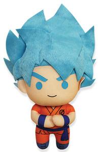 "Dragon Ball Super Plush Doll - SSGSS Goku 6.5"""