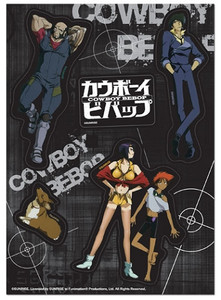 Cowboy Bebop Sticker Sheet - Spike Group