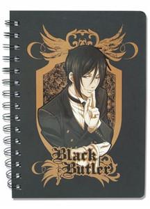 Black Butler Sebastian Notebook