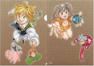 Seven Deadly Sins Folder - Group