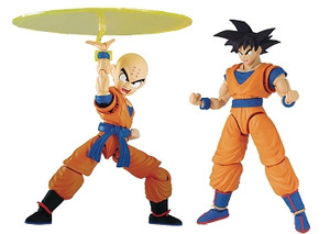 Dragon Ball Z Model Kit: Goku & Krillin DX Set