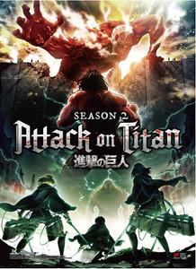 Attack on Titan Wallscroll - Season 2 Key Art