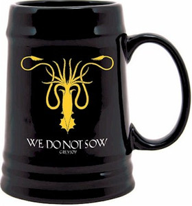 Game of Thrones Ceramic Stein - Greyjoy Sigil