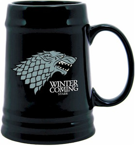 Game of Thrones Ceramic Stein - Stark Sigil