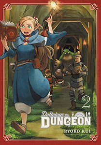 Delicious in Dungeon Manga 02