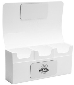 Monster Triple Deck Box - White