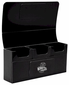 Monster Triple Deck Box - Black