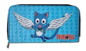 Fairy Tail Wallet - Happy (Zip Around)