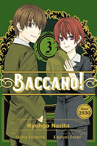 Baccano! Graphic Novel 03
