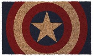 Captain American Shield Door Mat