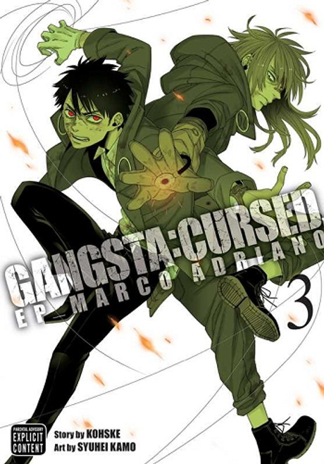Gangsta.: Cursed - Episode: Marco Adriano Manga Vol. 03