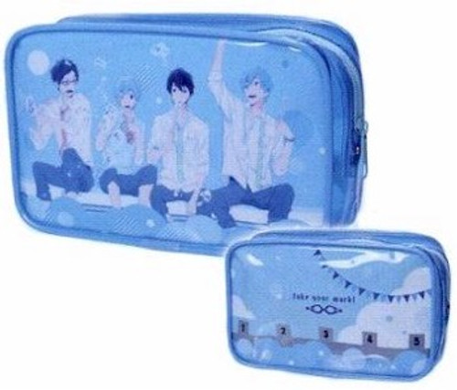 Freee! Travel Pouch - Uniform Ver.
