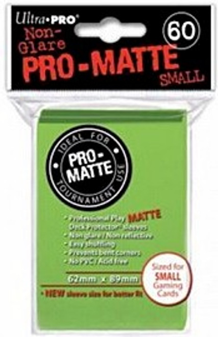 Ultra Pro Pro-Matte Sleeves Small (60) - Lime Green