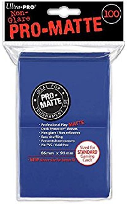 Ultra Pro Pro-Matte Sleeves Standard (100) - Blue
