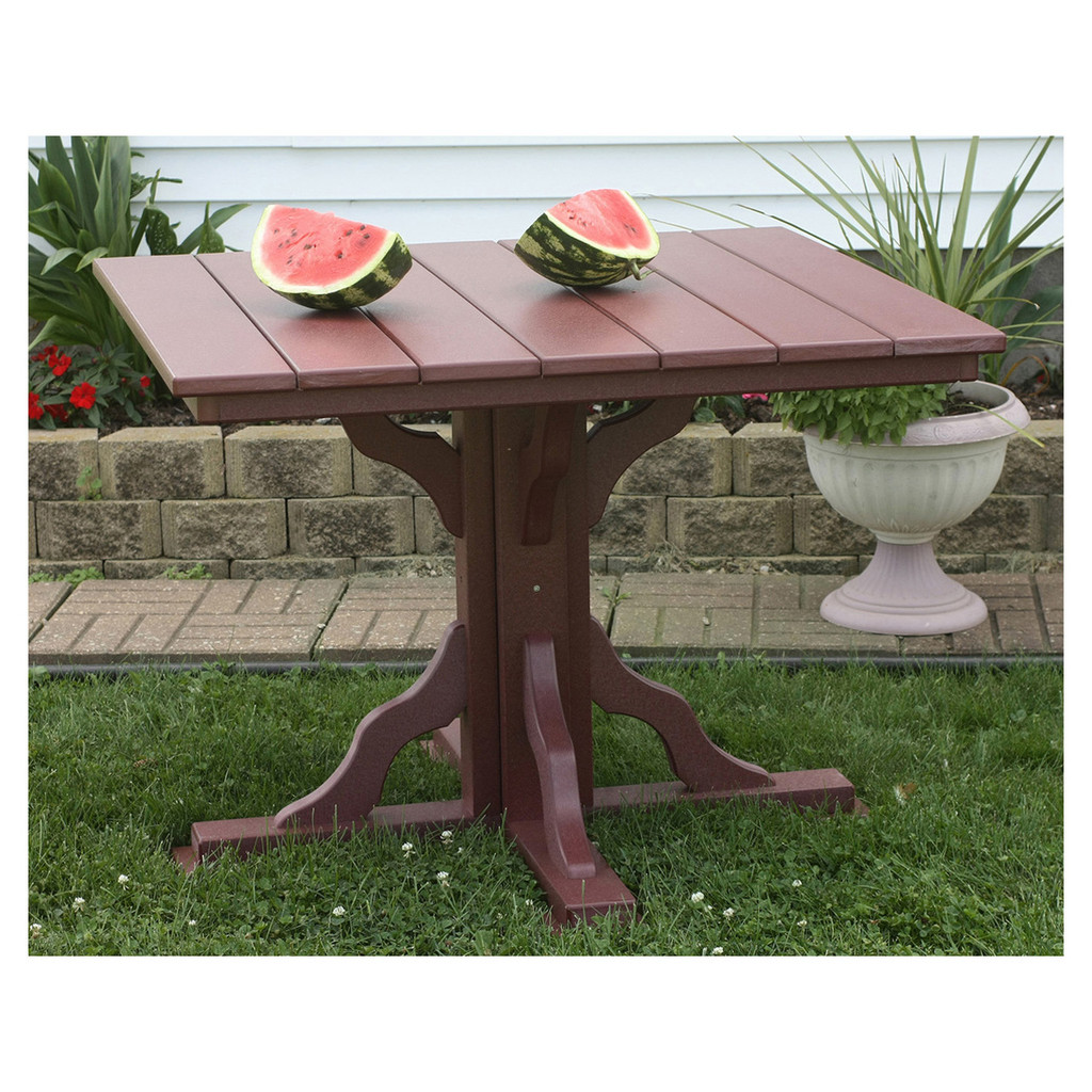 "39"" Square Outdoor Table"