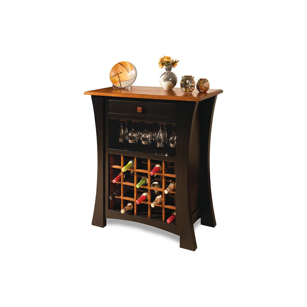 Arts & Crafts Wine Cabinet