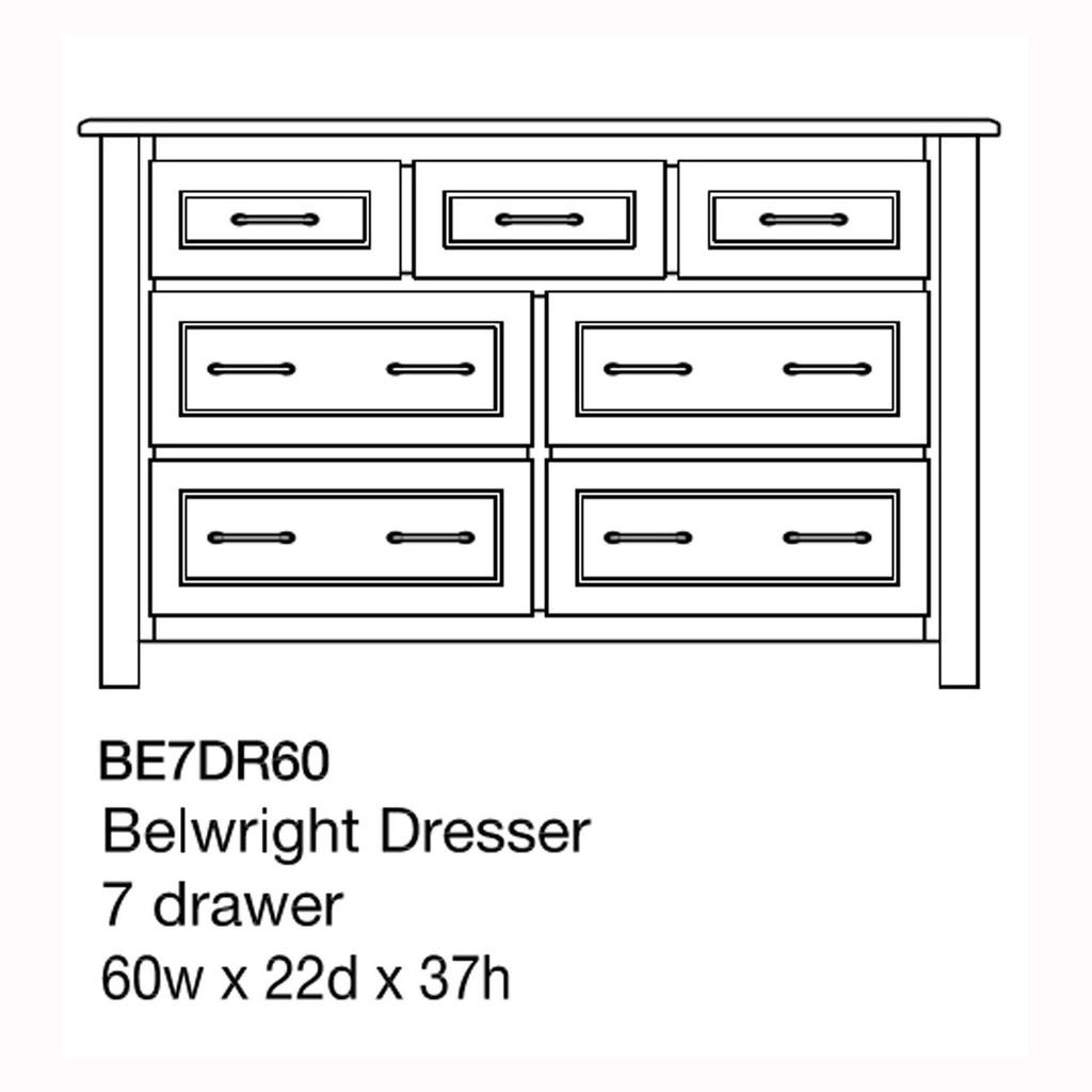 "Belwright 60"" Dresser"