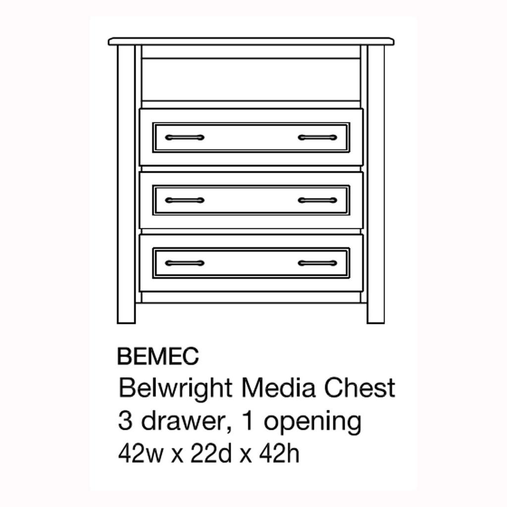 Belwright Media Chest