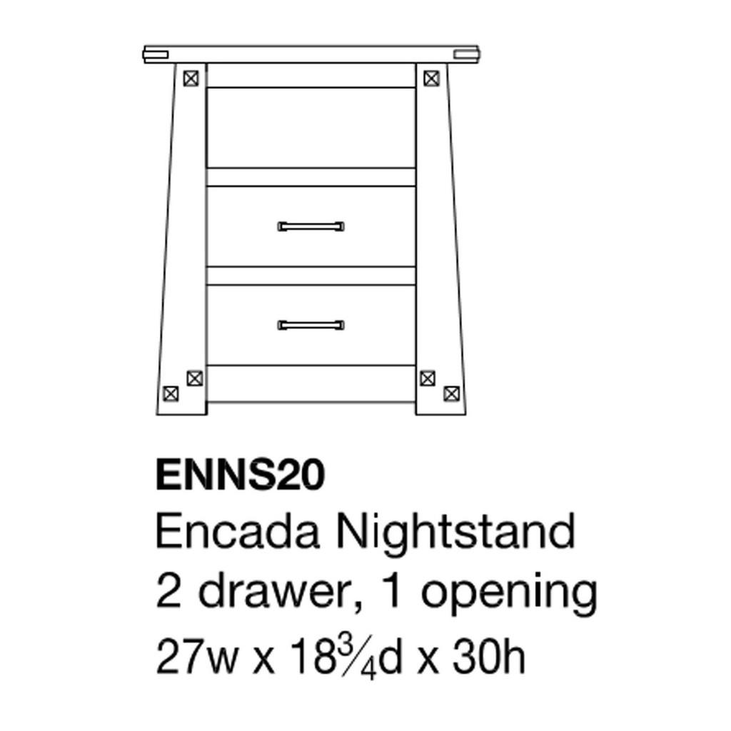 Encada Nightstand